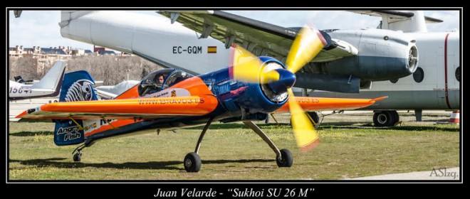 Hablamos con Juan Velarde, campeón de España de Vuelo Acrobático