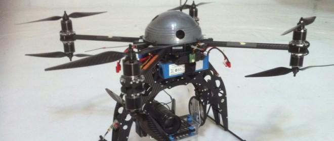 Por fin, ¡¡los drones!!