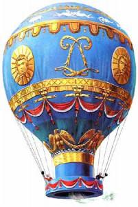 Montgolfier-balloon